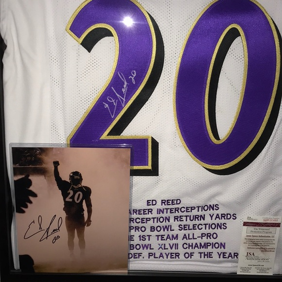 on sale 235bc 630ca Ed Reed Signature